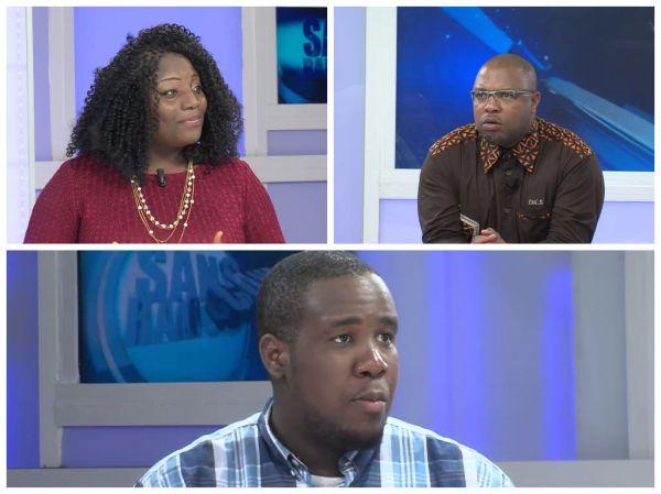 Panélistes sur Vox Africa
