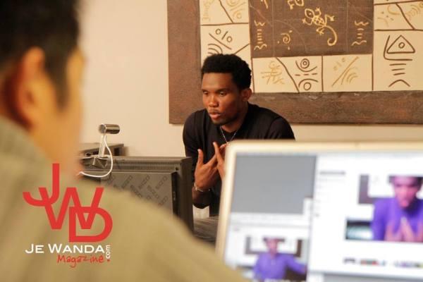 Hangout de JE WANDA MAGAZINE avec Samuel Eto'o
