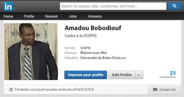 Amadou Linkedin