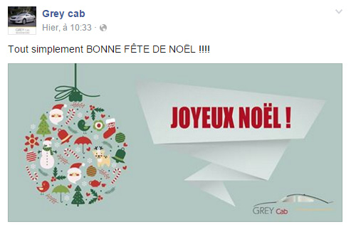 Grey Cab Page Facebook