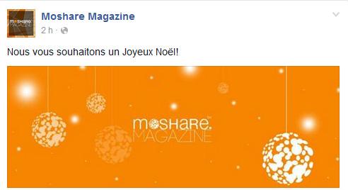 Moshare Magazine Page Facebook