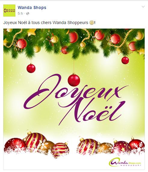 Wanda Shops Page Facebook