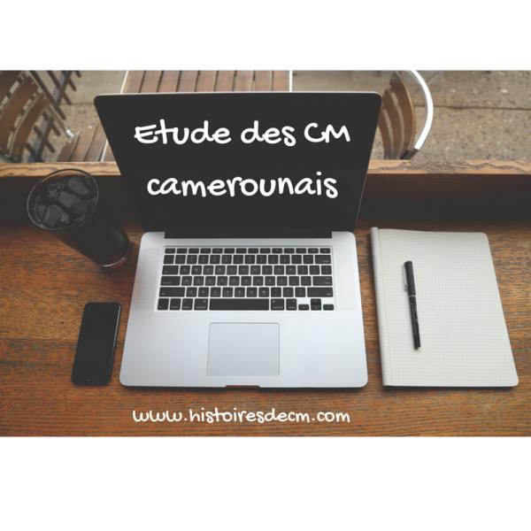 Etude des CM camerounais