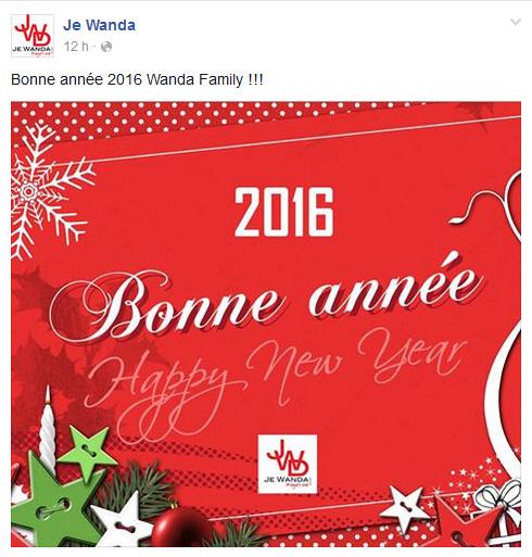 Je wanda magazine Page Facebook