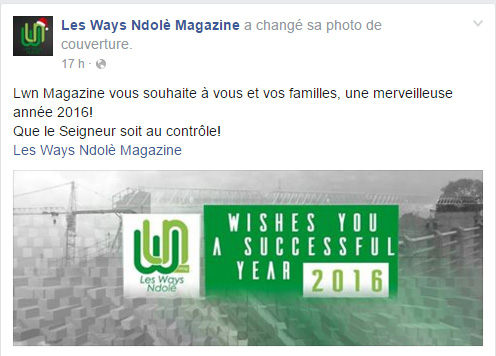 Les Ways Ndole Page Facebook