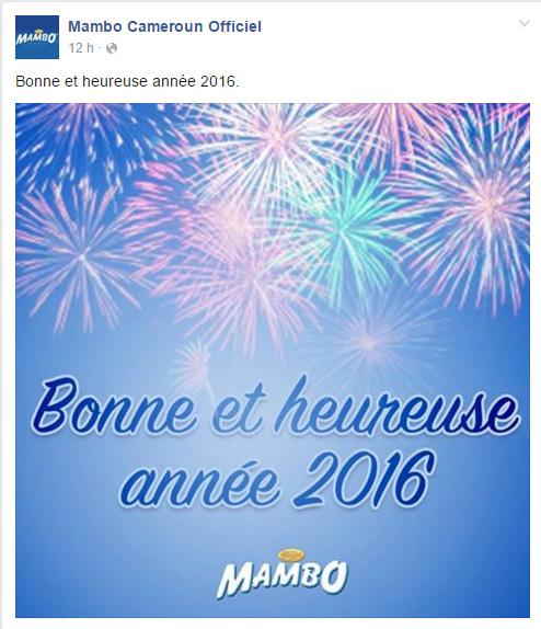 Mambo Cameroun Page Facebook