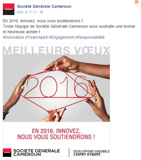 SGBC Cameroun Page Facebook