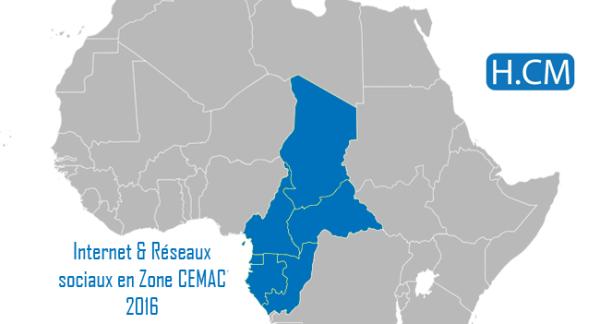 Internet et Réseaux sociaux en zone CEMAC 2016