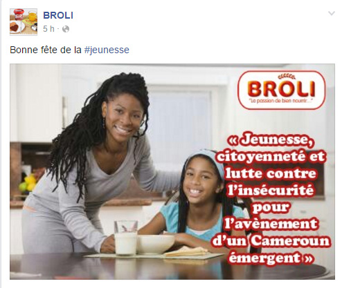Page Facebook BROLI