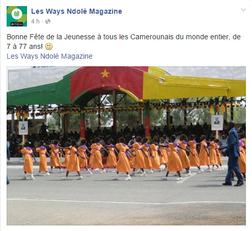 Page Facebook Les Ways Ndole