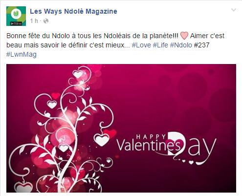 Page Facebook Les Ways Ndole