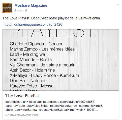 Page Facebook Moshare Magazine