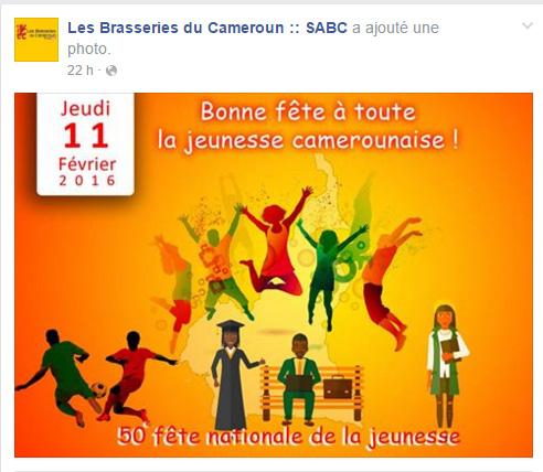 Page Facebook SABC