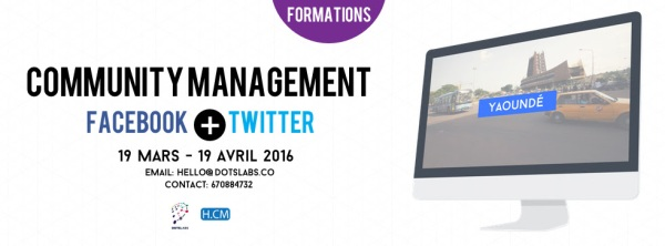 Formation Community Management Cameroun 2016