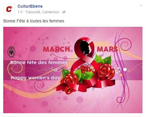 Page Facebook Culture Ebene
