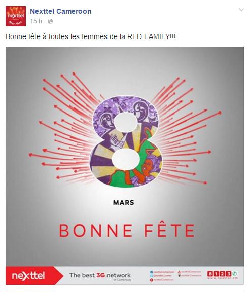 Page Facebook Nexttel