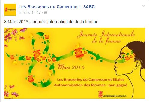 Page Facebook SABC 2