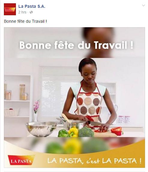 Page Facebook LA PASTA