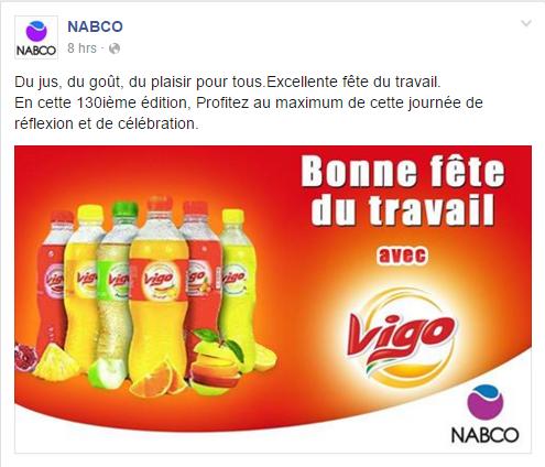 Page Facebook NABCO