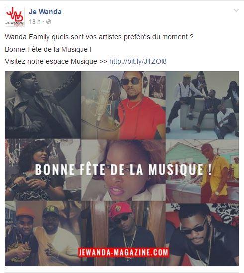 Community Managers Cameroun Fête de la musique 2016 1
