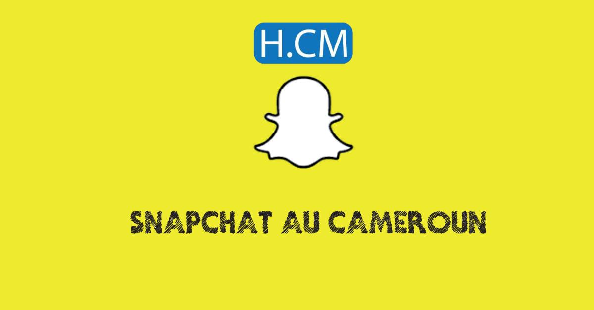 Snapchat au Cameroun