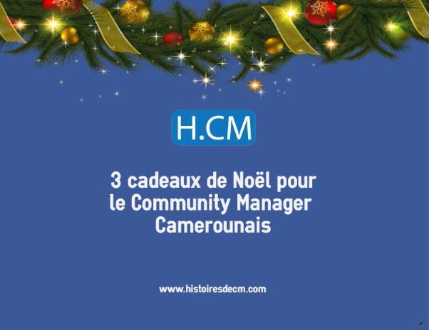 3 cadeaux de Noël pour le Community ManagerCamerounais