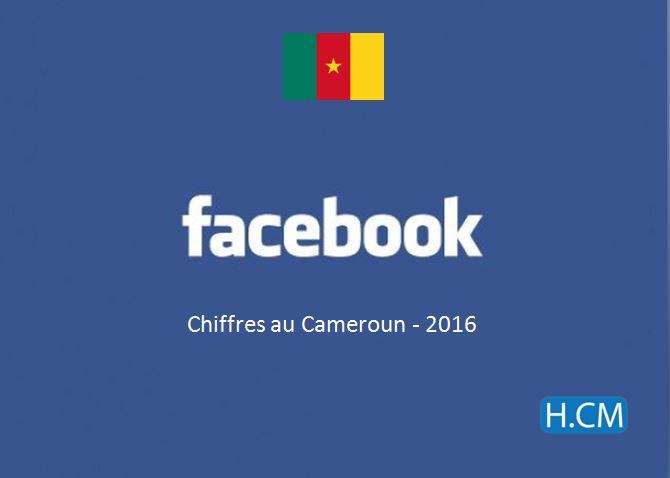 Chiffres Facebook au Cameroun –2016