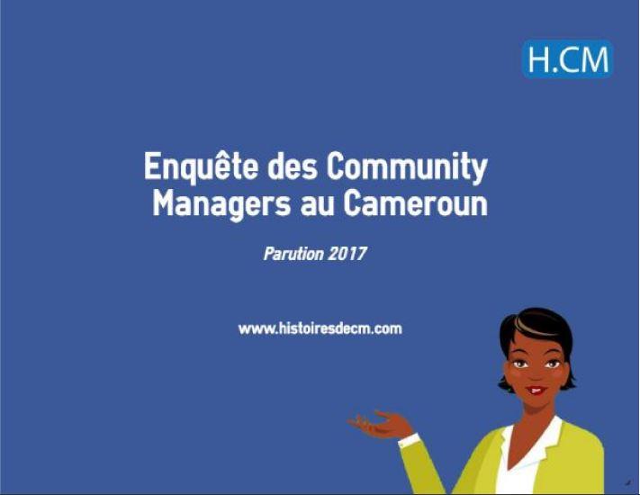 Etude des Community Managers Camerounais en2017