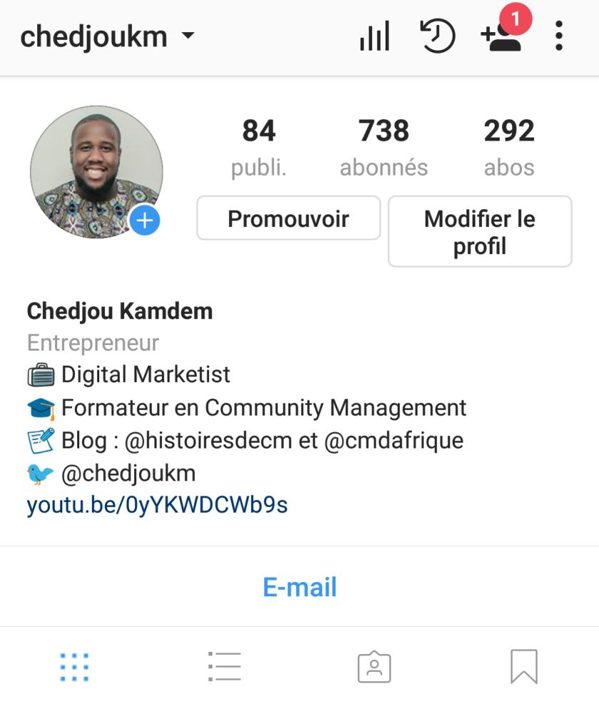 Lien Bio Instagram 2017