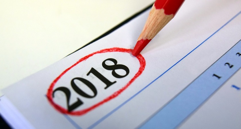 Calencrier editorial Community Manager 2018