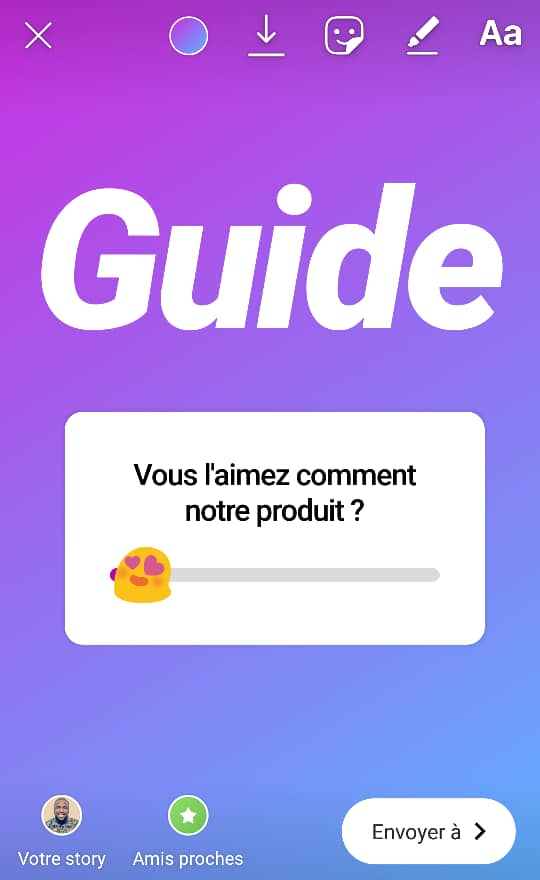 Guide Stickers Instagram Community Manager 2