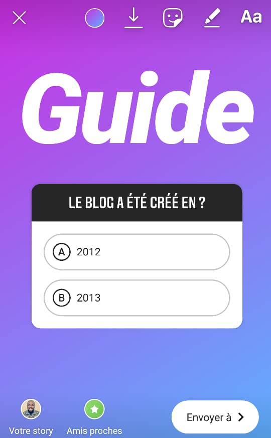 Guide Stickers Instagram Community Manager 4