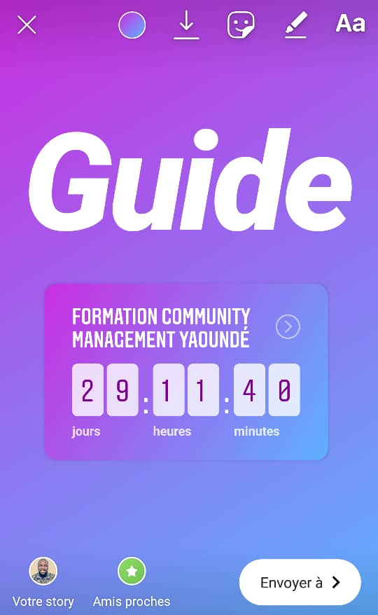 Guide Stickers Instagram Community Manager 5