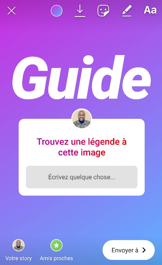 Guide Stickers Instagram Community Manager 6