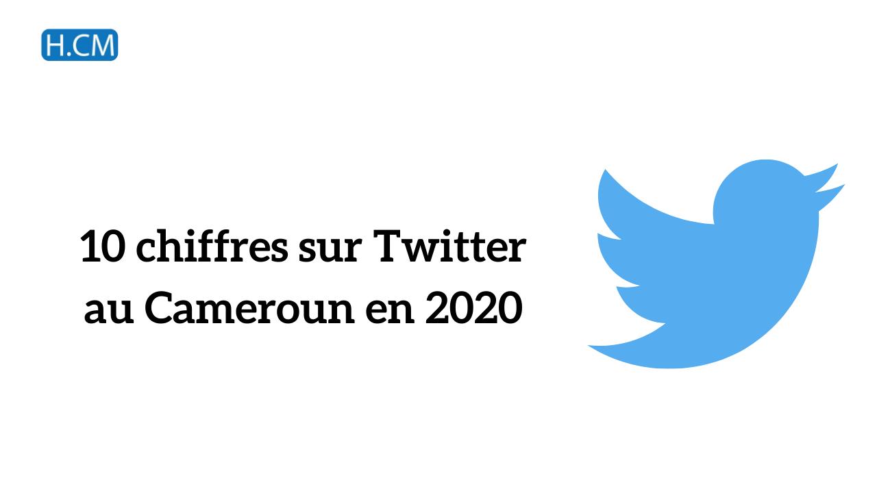 [Etude] Chiffres Twitter 2020 au Cameroun