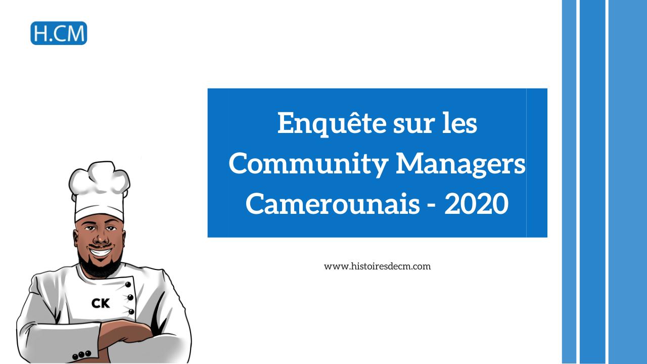 Enquête sur les Community Managers au Cameroun (2020)